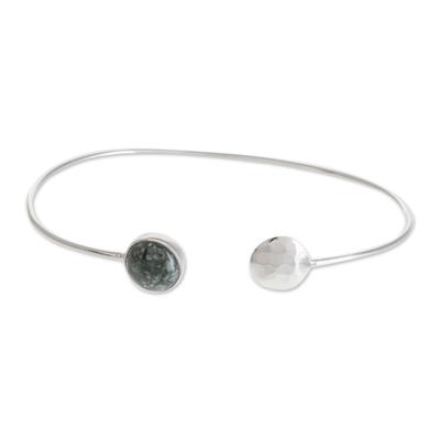 Jade cuff bracelet