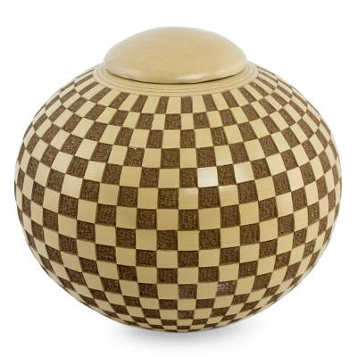 Nicaraguan Handcrafted Terracotta Jar and Lid