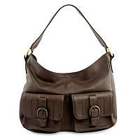 Leather shoulder bag, 'Terracotta Melody' - Trendy Brown Leather Lined Shoulder Bag