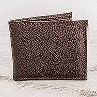 Mens leather wallet Cocoa Finance (Nicaragua)