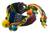 Cotton wrap bracelet, 'Hummingbird' - Guatemalan Handwoven Cotton Bracelet with Beads (image 2a) thumbail