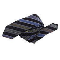 Cotton necktie and handkerchief,