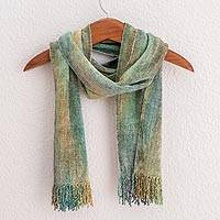 Bamboo chenille scarf,