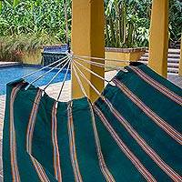 Handwoven hammock Happy Beach double Guatemala