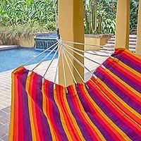 Acrylic hammock Volcanic Flame double Guatemala