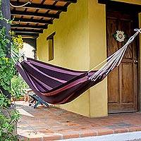 Cotton hammock Traditional Beauty single Guatemala