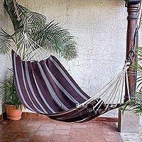 Cotton hammock Coffee Break double Guatemala