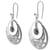 Jade dangle earrings, 'Quetzal Romance' - Handcrafted 925 Silver and Jade Quetzal Bird Earrings (image 2b) thumbail