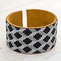 Beaded wristband bracelet,