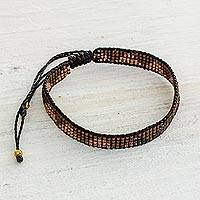 Featured review for Beaded wristband bracelet, Rejoice in the Earth