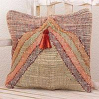 Cotton blend cushion cover,
