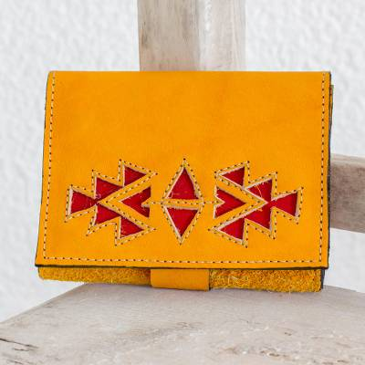 Leather wallet, Living Culture