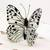Ceramic sculpture 'Forest Nymph Butterfly' - Handcrafted Ceramic Forest Nymph Butterfly Sculpture (image 2b) thumbail