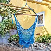 Cotton hammock swing chair Above the Sea Nicaragua