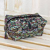 Fabric cosmetic bag,
