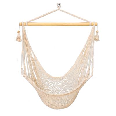 Cotton Swing Hammock from El Salvador (Single)