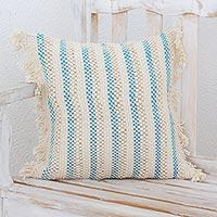 Cotton blend cushion cover,