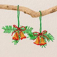 Glass ornaments,