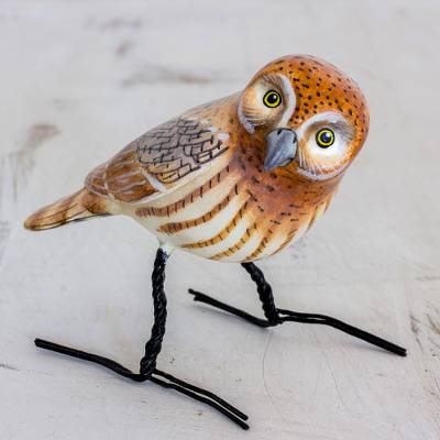 Ceramic figurine, Elf Owl