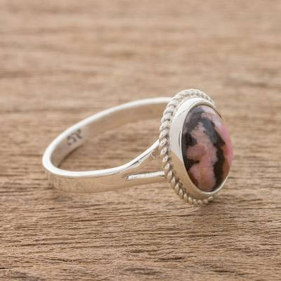 ruby in silver ring making