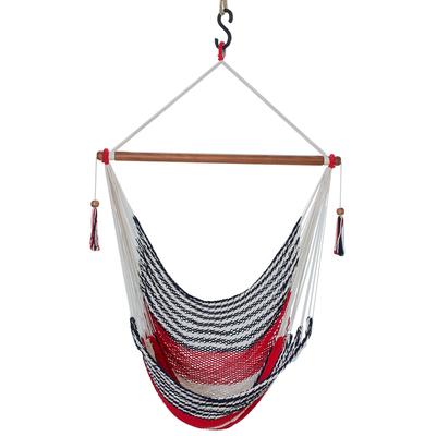 Handwoven Cotton Hammock Swing from Nicaragua