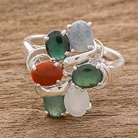 Featured review for Jade cocktail ring, Tide Pools at Sunset