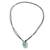 Jade pendant necklace, 'Ancient Memory' - Green Jade Pendant Necklace with Cotton Cord (image 2c) thumbail