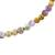 Jasper and amethyst beaded stretch anklet, 'Magical Gems' - Jade and Amethyst Beaded Stretch Anklet from Guatemala (image 2c) thumbail