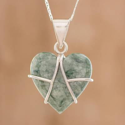 Jade pendant necklace, Magical Destiny