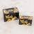 Wood decorative boxes, 'Mountain Friends' (pair) - Black with Painted Birds Rectangular Pinewood Boxes (Pair) thumbail