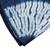 Tie-dyed cotton tablecloth, 'Indigo Lily Pads' - Circle Motif Tie-Dyed Cotton Tablecloth from Guatemala (image 2c) thumbail