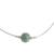 Jade beaded pendant necklace, 'Mayan Texture' - Textured Jade Beaded Pendant Necklace from Guatemala (image 2a) thumbail