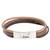 Faux leather wristband bracelet, 'Tricolor Elegance' - Tricolor Faux Leather Wristband Bracelet from Guatemala (image 2a) thumbail