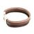 Faux leather wristband bracelet, 'Tricolor Elegance' - Tricolor Faux Leather Wristband Bracelet from Guatemala (image 2c) thumbail