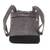Leather backpack, 'Exploration in Grey' - Handmade Leather Backpack in Grey from Costa Rica (image 2b) thumbail