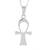 Sterling silver pendant necklace, 'Ankh' - Sterling Silver Ankh Pendant Necklace from Guatemala (image 2a) thumbail