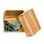 Glass mosaic teak wood decorative box, 'Hummingbird Delight' - Hummingbird-Themed Glass Mosaic Teak Wood Decorative Box (image 2d) thumbail