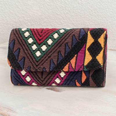 Cotton wallet, Sacred Black Mountains