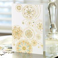 Holiday greeting cards, 'Snow Flurries' (set of 12) - 12 UNICEF Holiday Greeting Cards Set with Global Message