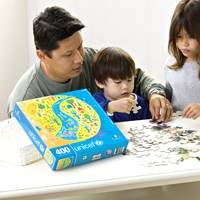 UNICEF Jigsaw Puzzle, 'A World at Peace' - 400-piece Jigsaw Puzzle for the Whole Family