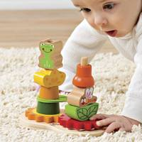 Stacker toy, 'Happy Garden' - UNICEF 13-piece Set Stacker Toy for Children 12M and Up