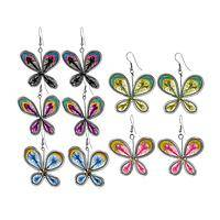 Art of Thread -  Butterfly Earring Delicately Crafted in Peru
