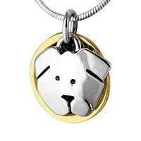 Puppy Love  - Handcrafted Mexican Silver-Plated Dog Necklace