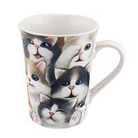 Cozy Kitties - Important Microwave and Dishwasher Safe Kitten Ceramic Mug