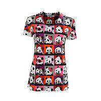 Utter Panda-monium - Playful T-Shirt Covered With Whimsical Pandas