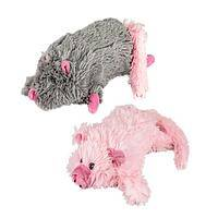 Plush Doggy Toys - Unstuffed Squeaky Play Toys For Dogs