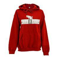 Favored Feline - Beefy Poly/Cotton Cool Cats Hooded Sweatshirt