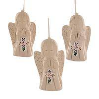Solemn Seraphims - Handmade Angelic Ornaments from Bolivia
