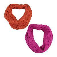 Endless Beauty  - Handmade Crocheted Himalayan 100% Wool Infinity Scarf