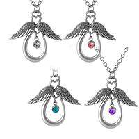 Angels Among Us - Angels Are Closer Than You Think Silhouette Necklace